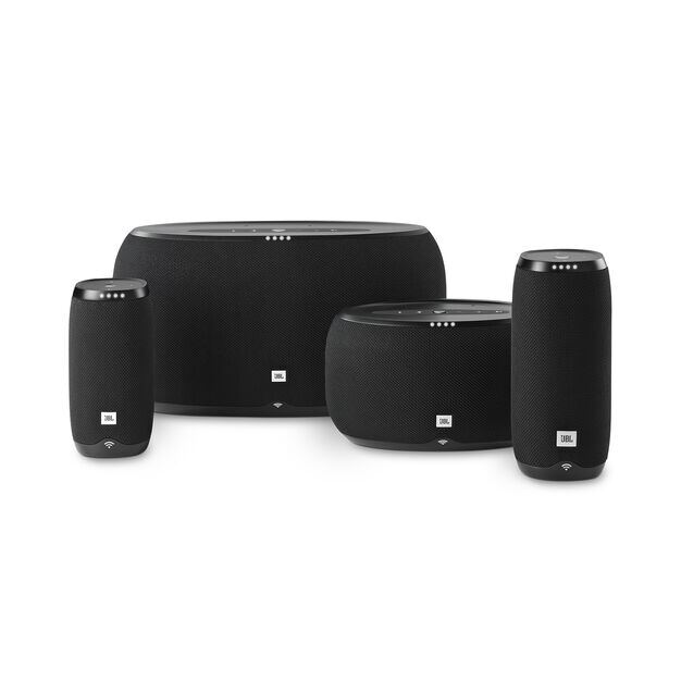 JBL Link 500 - Black - Voice-activated speaker - Detailshot 2
