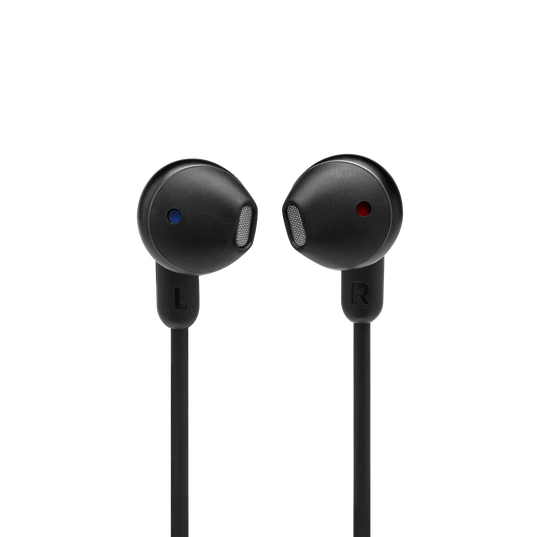 JBL TUNE 215BT - Black - Wireless Earbud headphones - Detailshot 1