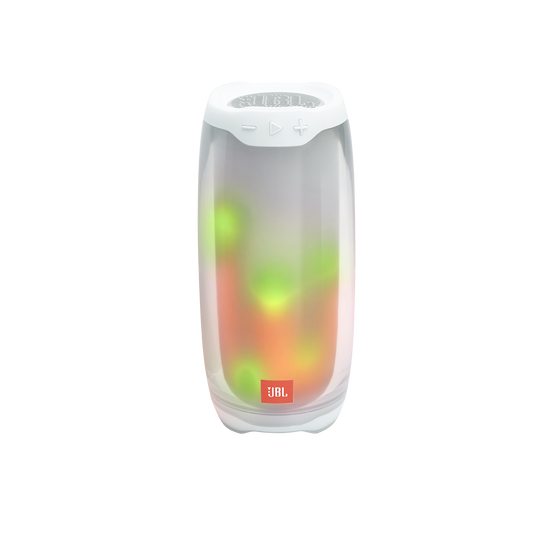 JBL Pulse 4 - White - Portable Bluetooth Speaker - Detailshot 2