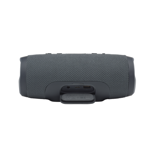 JBL Charge Essential - Gun Metal - Portable waterproof speaker - Detailshot 1