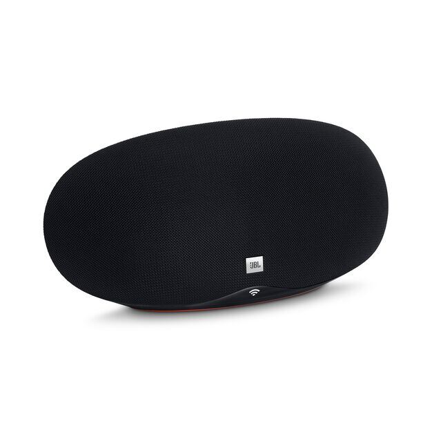 JBL Playlist - Black - Wireless speaker with Chromecast built-in - Hero