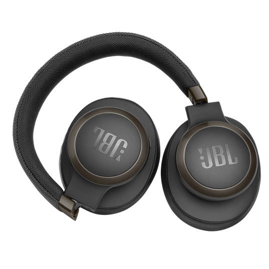 JBL LIVE 650BTNC - Black - Wireless Over-Ear Noise-Cancelling Headphones - Detailshot 5