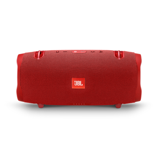 JBL Xtreme 2 - Red - Portable Bluetooth Speaker - Front