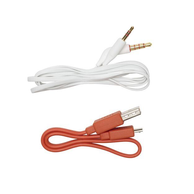 JBL TUNE 700BT - White - Wireless Over-Ear Headphones - Detailshot 8
