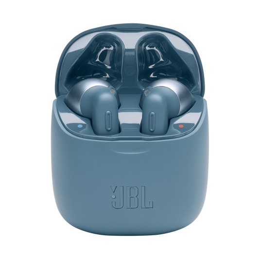 JBL TUNE 220TWS - Blue - True wireless earbuds - Hero