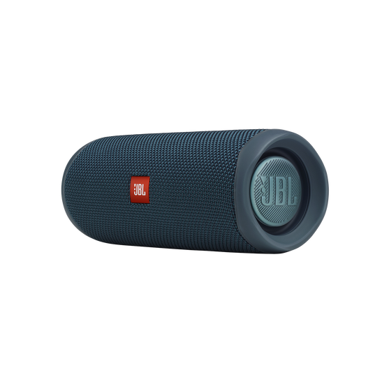JBL FLIP 5 - Blue - Portable Waterproof Speaker - Detailshot 3
