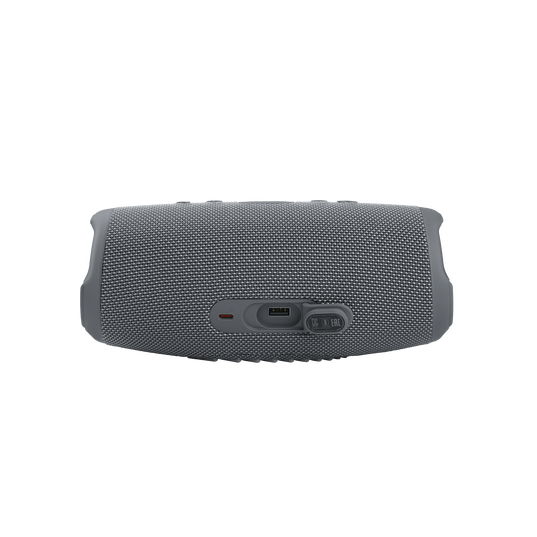 JBL CHARGE 5 - Grey - Portable Waterproof Speaker with Powerbank - Detailshot 1