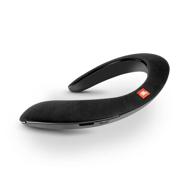 JBL SOUNDGEAR BTA - Black - Wearable wireless sound - Hero