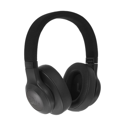 JBL E55BT - Black - Wireless over-ear headphones - Detailshot 15