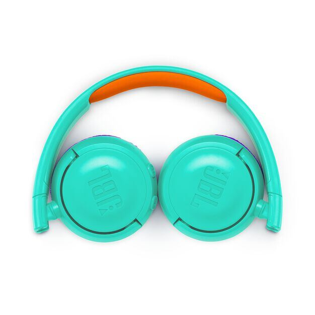 JBL JR300BT - Tropic Teal - Kids Wireless on-ear headphones - Detailshot 3