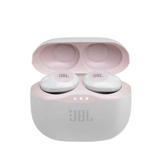 JBL Tune 120TWS - Pink - True wireless in-ear headphones. - Hero