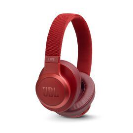 JBL LIVE 500BT - Red - Your Sound, Unplugged - Hero