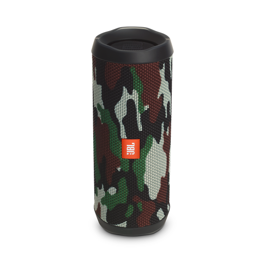 JBL Flip 4 Special Edition - Squad - A full-featured waterproof portable Bluetooth speaker with surprisingly powerful sound. - Hero