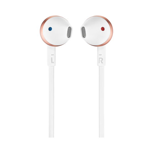 JBL TUNE 205 - Rose Gold - Earbud headphones - Front
