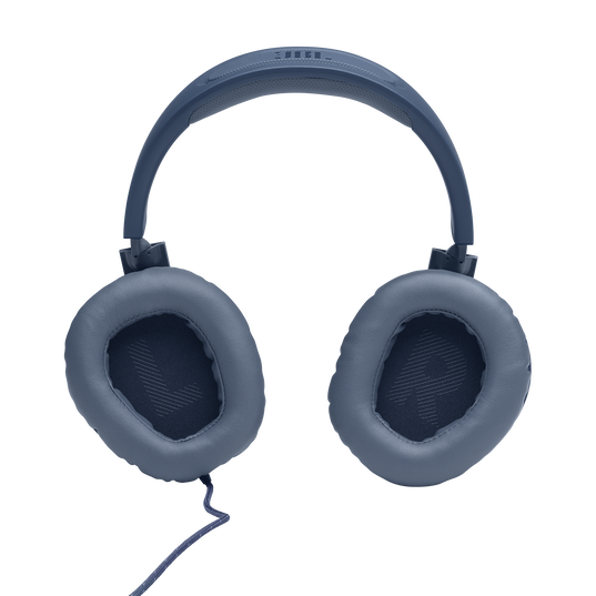 JBL Quantum 100 - Blue - Wired over-ear gaming headset with a detachable mic - Detailshot 3