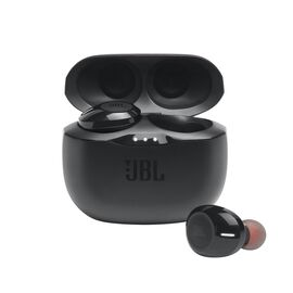 JBL TUNE 125TWS - Black - Truly wireless in-ear headphones. - Hero