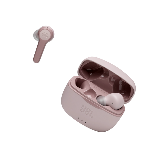 JBL Tune 215TWS - Pink - True wireless earbud headphones - Detailshot 2