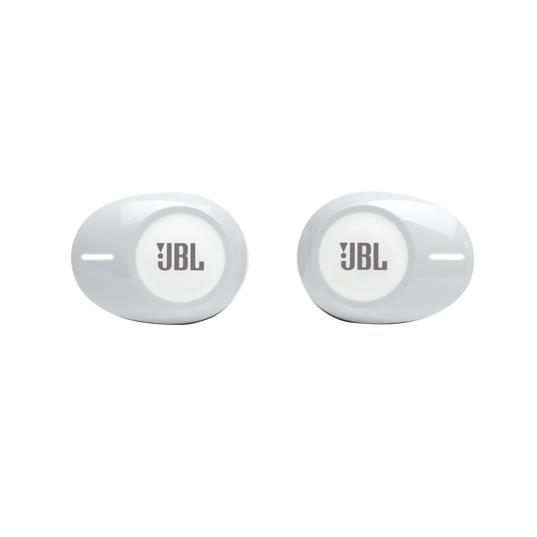 JBL TUNE 125TWS - White - Truly wireless in-ear headphones. - Front