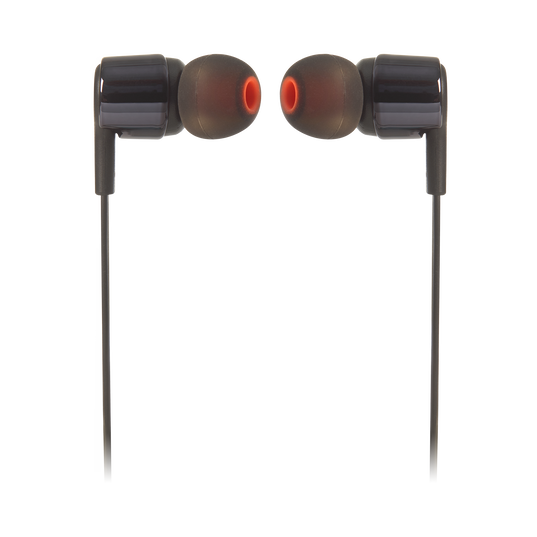 JBL TUNE 210 - Black - In-ear headphones - Front