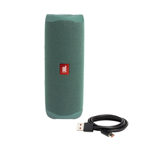 JBL Flip 5 Eco edition - Forest Green - Portable Speaker - Eco edition - Detailshot 2