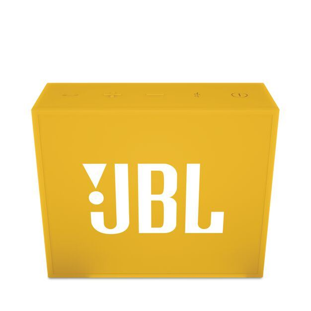 JBL GO - Yellow - Full-featured, great-sounding, great-value portable speaker - Front