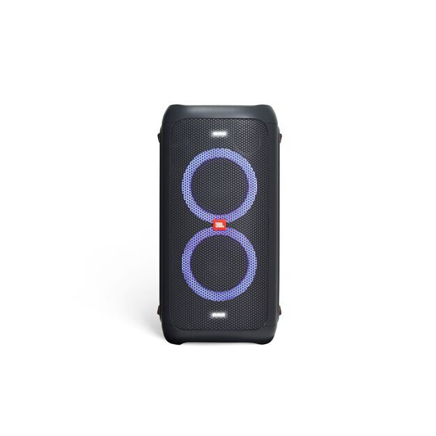China:- - Black - Powerful portable Bluetooth party speaker with dynamic light show - Detailshot 6