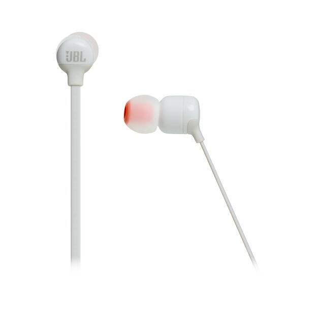 JBL TUNE 160BT - White - Wireless in-ear headphones - Detailshot 3