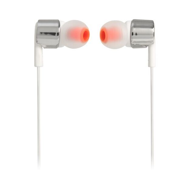 JBL TUNE 210 - Grey - In-ear headphones - Front