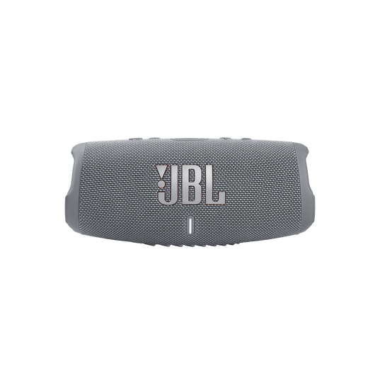 JBL CHARGE 5 - Grey - Portable Waterproof Speaker with Powerbank - Front