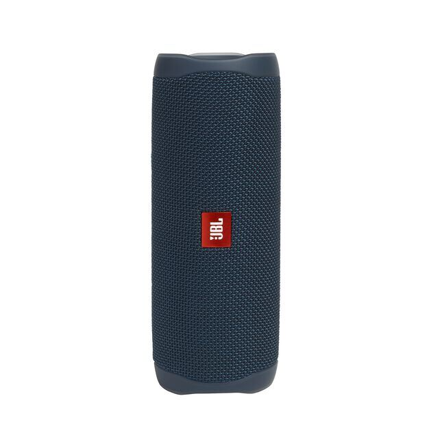 JBL FLIP 5 - Blue - Portable Waterproof Speaker - Hero
