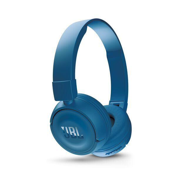 JBL T450BT - Blue - Wireless on-ear headphones - Detailshot 2