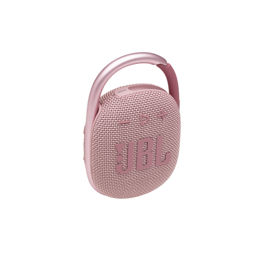 JBL CLIP 4 - Pink - Ultra-portable Waterproof Speaker - Hero