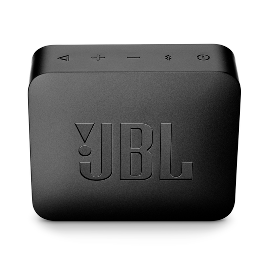 JBL GO 2 - Midnight Black - Portable Bluetooth speaker - Back