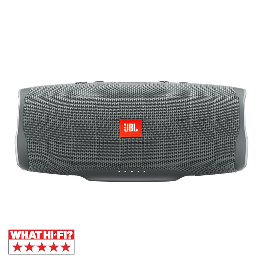 JBL Charge 4 - Grey - Portable Bluetooth speaker - Hero