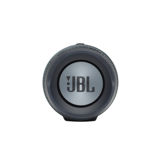JBL Charge Essential - Gun Metal - Portable waterproof speaker - Left