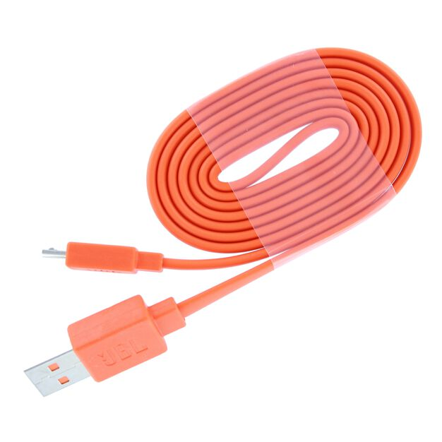 USB Charging cable 100cm, Flip 2/3/4, Charge, Pulse - Orange - Charging cable Flip 2/3/4, Charge, Pulse2, JBL E45BT and JBL E55BT - Hero