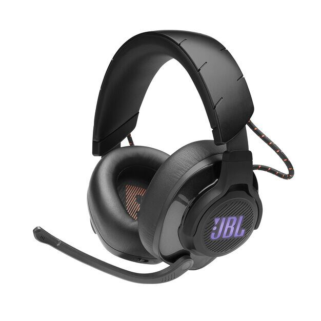 JBL Quantum 600 - Black - Wireless over-ear performance gaming headset with surround sound and game-chat balance dial - Detailshot 3