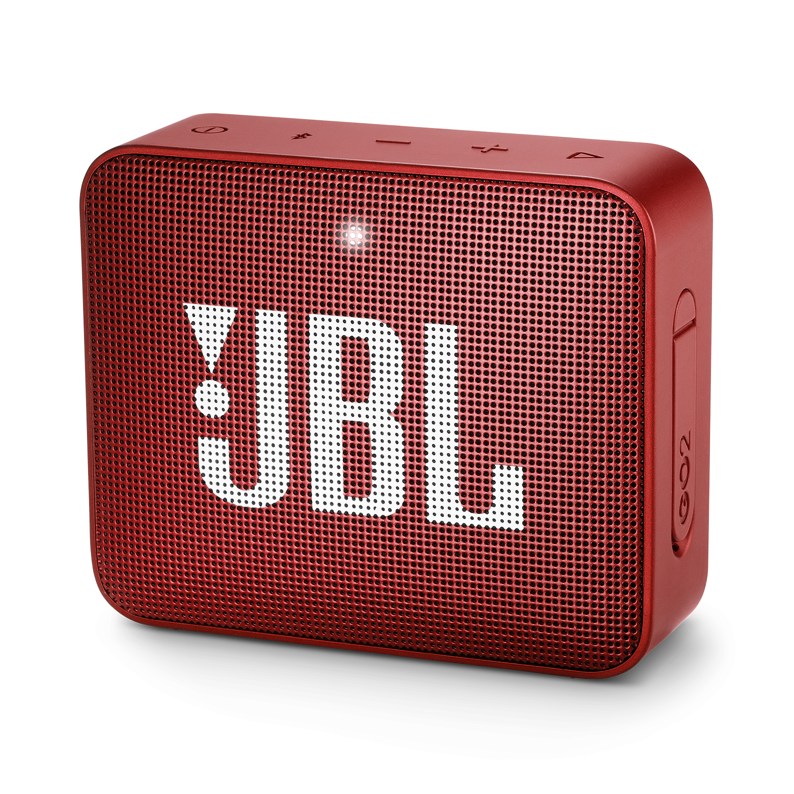 JBL GO 2 - Ruby Red - Portable Bluetooth speaker - Hero